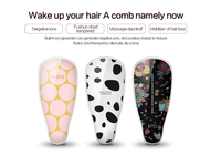 1pc USB Chargeable Portable Hair Massage Styling Brush Negative ions hair care Hair Straightening Curler Irons Electric Brush