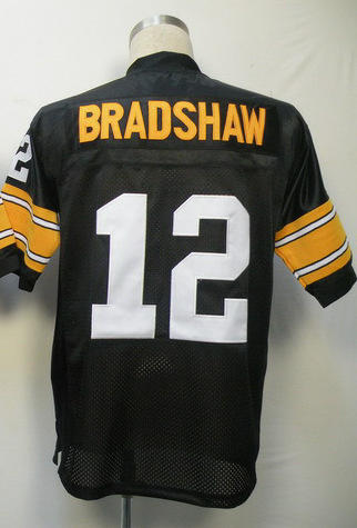 Hot #12 Terry Bradshaw Jersey,Throwback Football Jersey,Sport Jersey,Size M--XXXL,Accept Mix Order