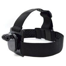 GOPRO 360 градусов Поворотный оголовье раздел три резиновые ободки противоскользящие передние ПЭТ шлем оснащенный креплением для маски для Xiaoyi