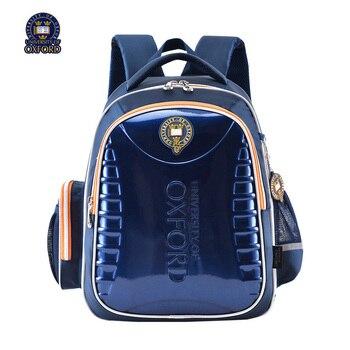 UNIVERSITY OF OXFORD children/kid elementary orthopedic  school bag books shoulder school bag for boys grade 1-3-6