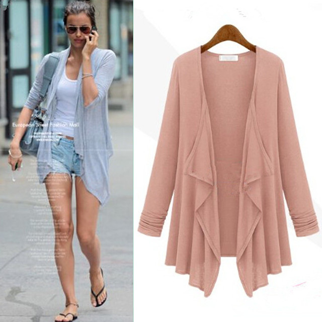 2016 new spring leisure style fashion cardigan Women long cardigan ...