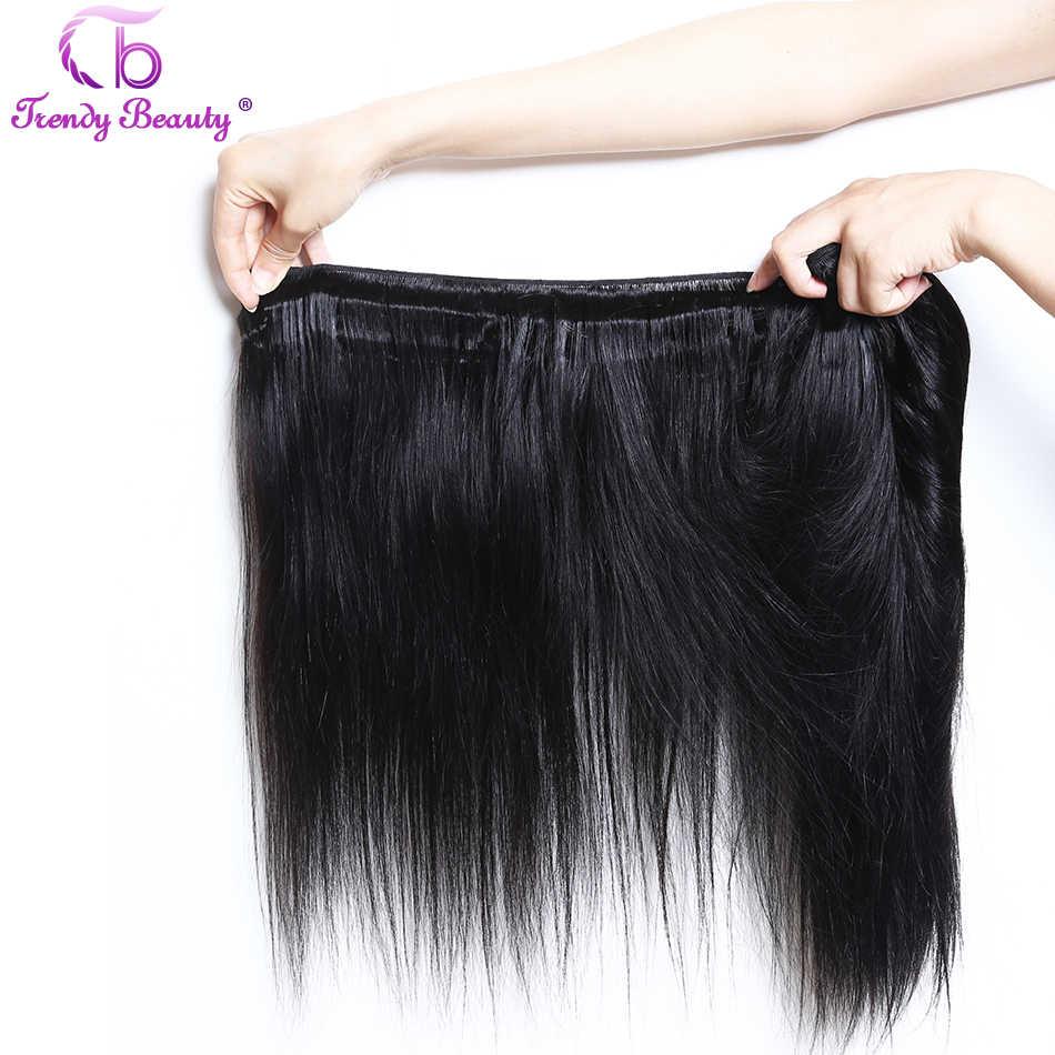 Модные красивые волосы бразильские прямые человеческие волосы пучки волос плетение Non Волосы remy 1/3/4 шт. 8-30 дюймов Бесплатная доставка 100 г за шт