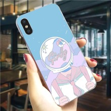 Lovely Design Phone Cover For iPhone 7 Case 5 5S SE 6 6S/6 6S Plus 8/7 9 Plus X XS XR Xs Max Hard Shell Pattern cross tribe design aluminum metal coated hard shell case for iphone 5s 5