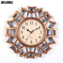 10 Inches Abstract Wall Clock Nordic Vintage Numeral Geometric Quartz Mordern Home Design Decorative Supplies