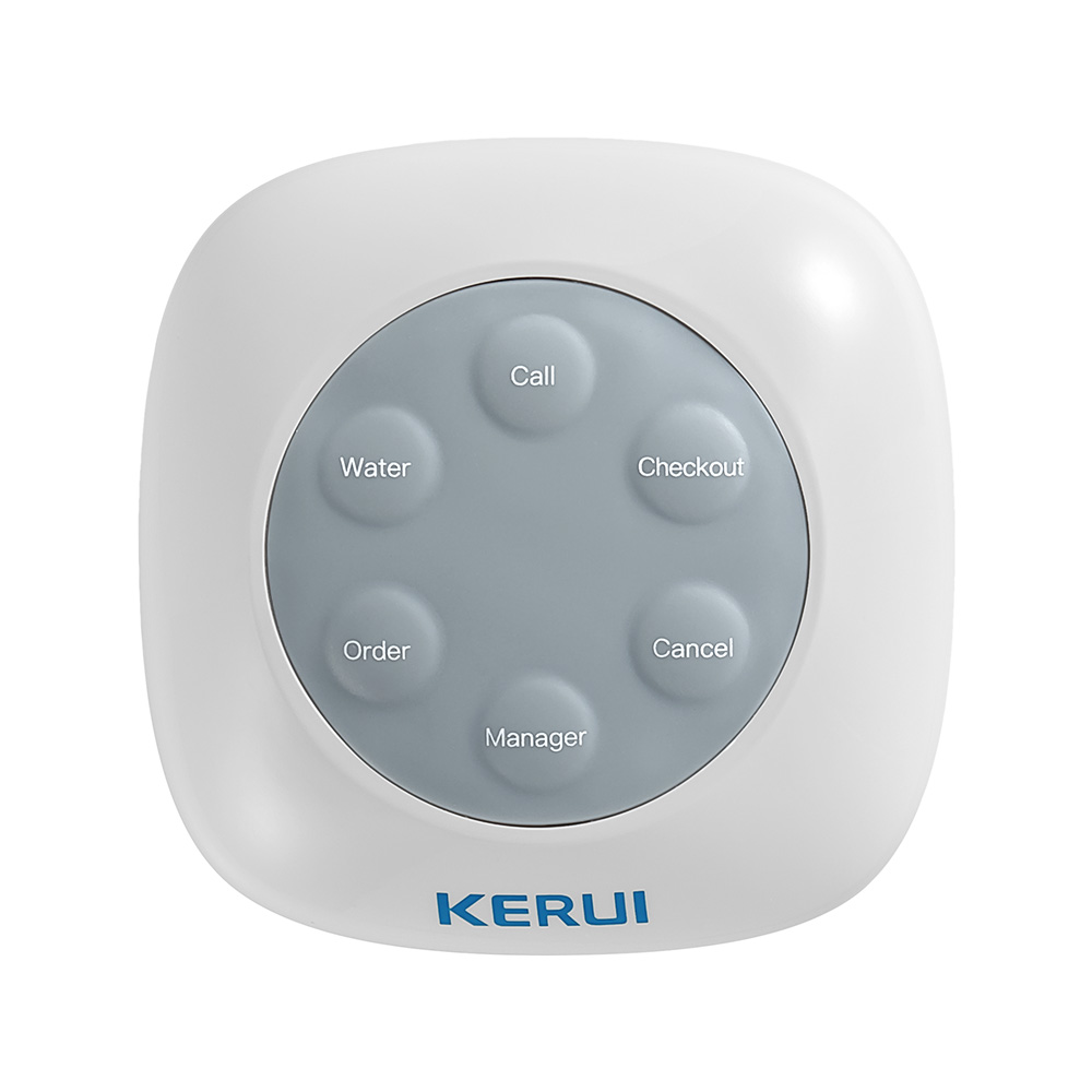 KERUI F76 Wireless Home 100M Waterproof Calling Bell Pager Call Button Transmitter Calling System For Restaurant Hotel Pager цены
