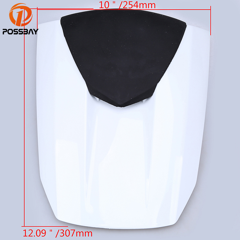 POSSBAY Vintage Motorcycle Rear Pillion Motorbike Seat Cowl Fairing Cover fit for Honda CBR600RR F5 2013 Scooter Seat Cover