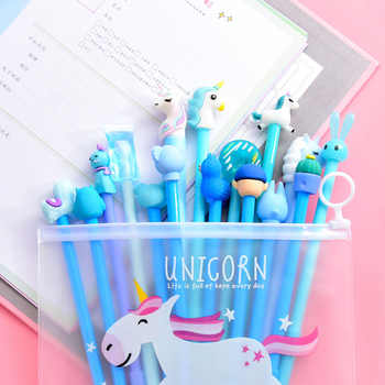 20Pcs Cute Kawaii Cartoon Animal Unicorn Gel Pen Suit Student Creative Gift Stationery School Office Writing Pens Supplies - DISCOUNT ITEM  25% OFF All Category