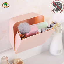 Msjo Makeup Box Organizer On Wall  Shelf Plastic Make Up Box For Office Sundries Cosmetic Drawer Container Home Organizer Box