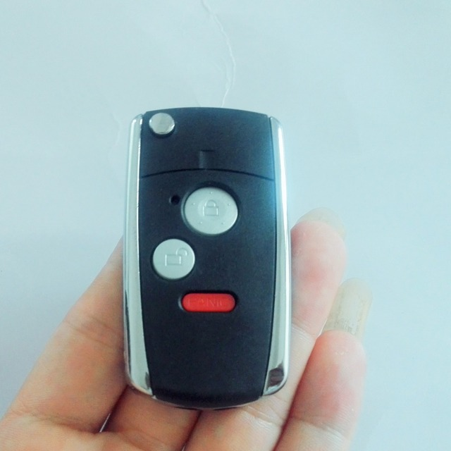 PCSLOT Replacement Folding Remote Key Shell Button Key Case - Acura key replacement
