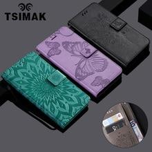 Tsimak Coque Wallet Case For Huawei Honor 6C Nova Smart Enjoy 6S Flip PU Leather Phone Cover Capa