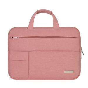 Image 2 - 13 14 15.6 Man Felt Shoulder Handbag Notebook Laptop Sleeve Bag Pouch Case For Xiaomi Acer Dell HP Asus Lenovo Macbook Pro Air