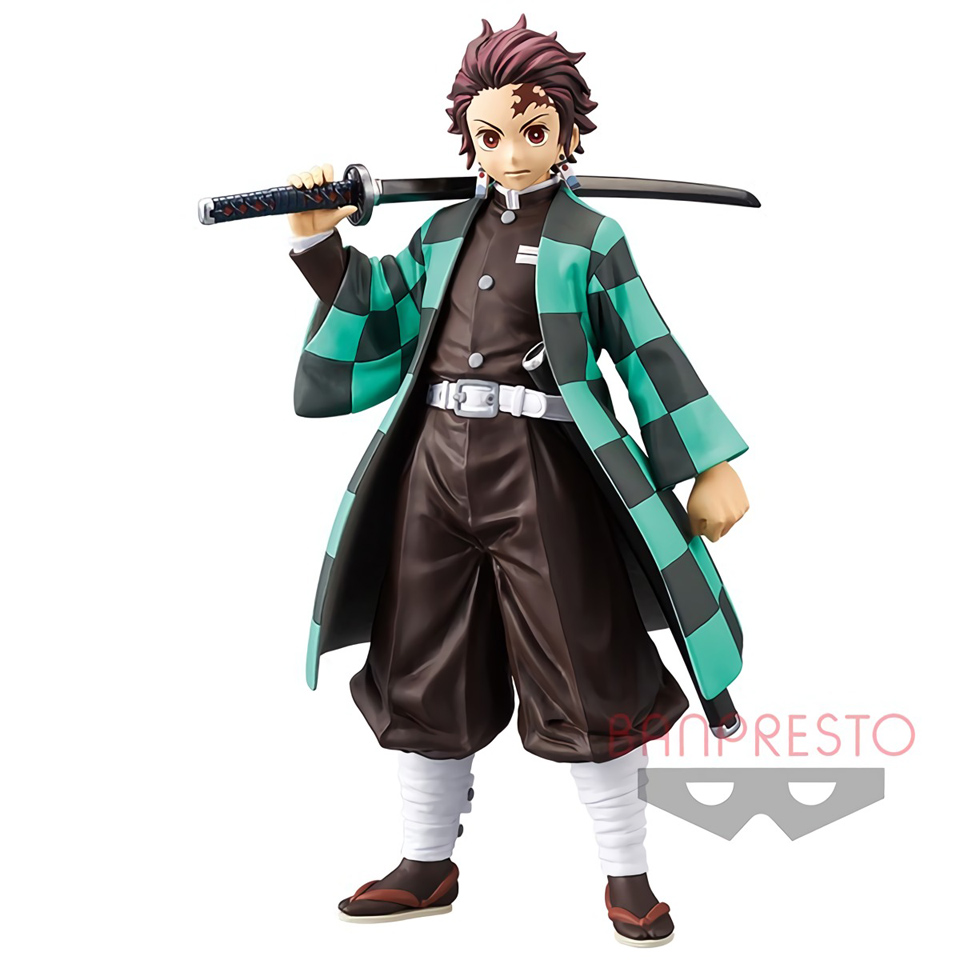Tronzo Action-Figure Warrior-Model Figuals-Toys Slayer Anime Demon Kimetsu Kamado Tanjirou