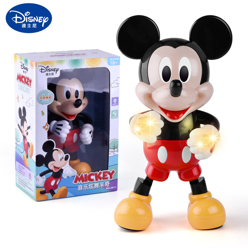 Official Disney Mickey Mouse And Pluto Posable Action Figure 11cm Tall Plastic