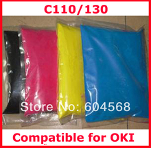 High quality color toner powder compatible for OKI C110/C130 Free shipping