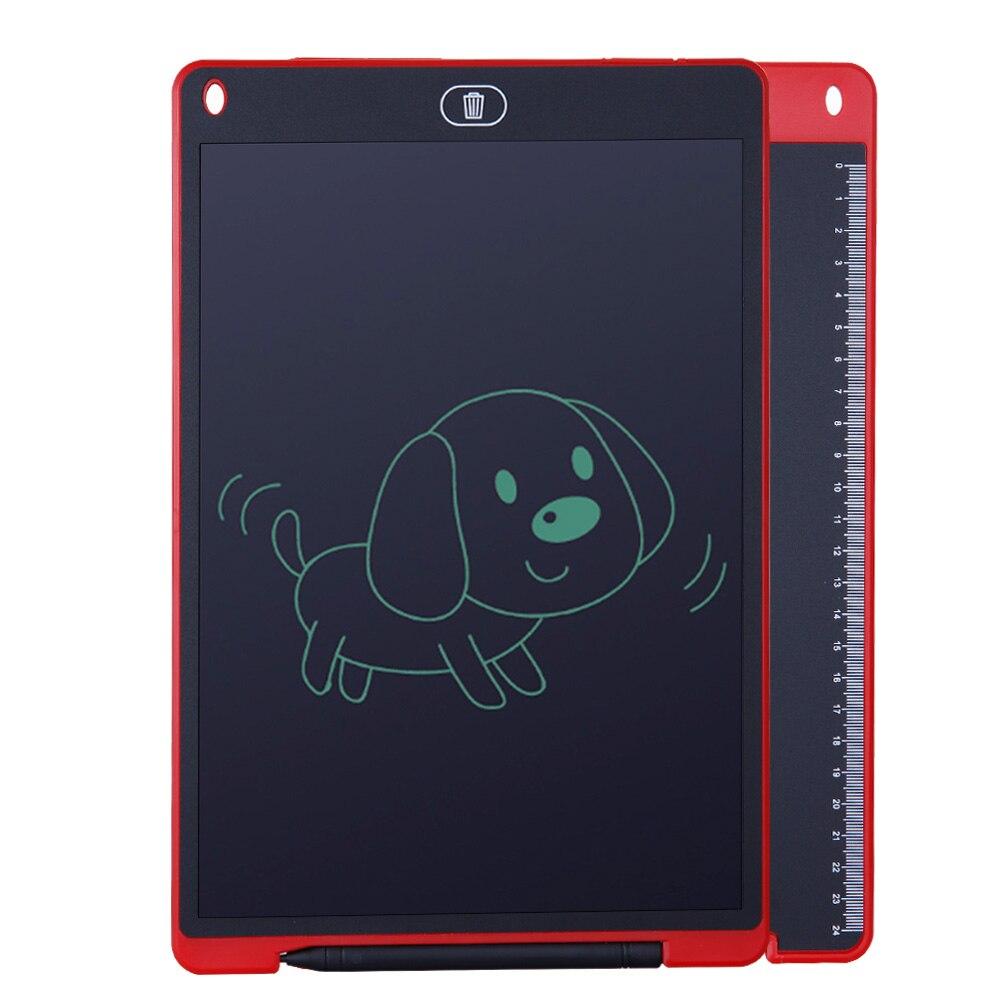 נייד 12 אינץ LCD כתיבת לוח דיגיטלי ציור לוח כתב יד רפידות אלקטרוני לוח לוח דק במיוחד לוח עם עט