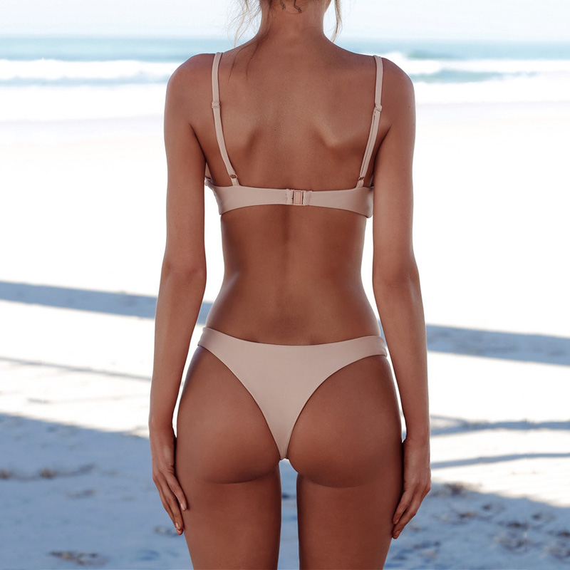 Women Bikini Two Pieces Set Swimsuit Summer Beach Wear Sexy Bikinis Bathing Suit Swimwear YS-BUY 2