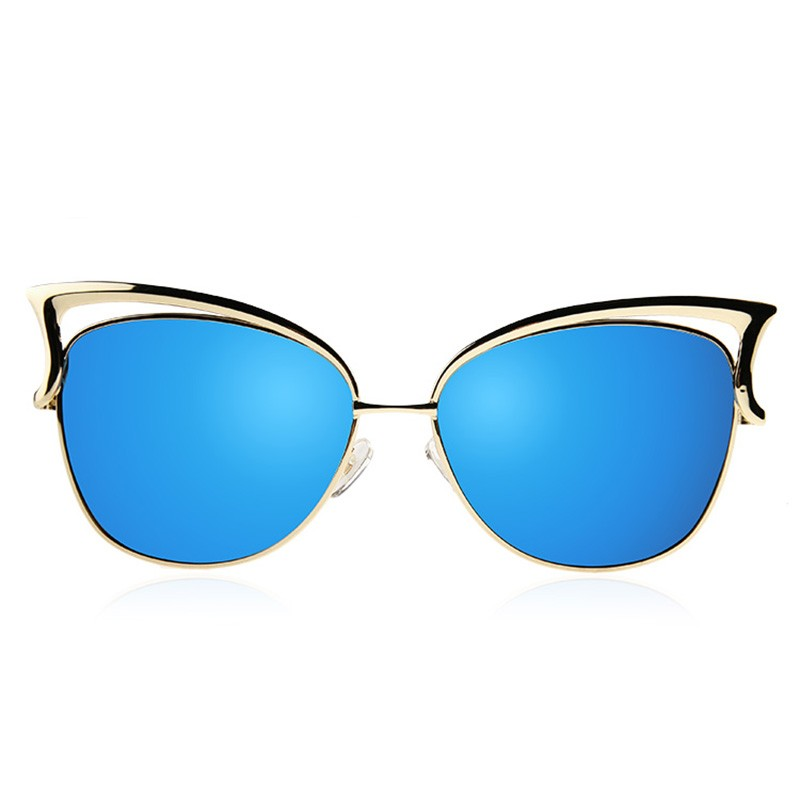 HTB1eo.tSFXXXXatXFXXq6xXFXXXC - KIKI Women Sunglasses Polarized Retro Cat Eyes Metal Driving Gold Sun Glasses Brand Designer UV400 oculos de sol feminino