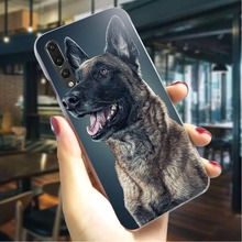 Belgian Malinois Dog Hard Case for Huawei Y7 Prime 2018 Pattern Phone Cover Honor play note10 Y6 Y9