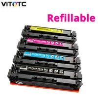 204A Color Toner Cartridge CF510A CF511A CF512A CF513A Compatible for HP Color LaserJet Pro M154 MFP M180 M180n M181 M181fw