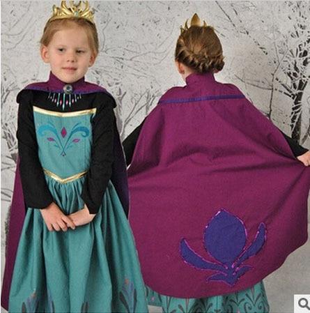 03b126ec4c245 Children Princess Dress Kids Anna Elsa Costumes Dresses Girls carnival Snow  Queen Christmas Toddler Girls Halloween Clothing