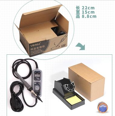 ФОТО High quality 60W LED Soldering Station&soldering iron kit