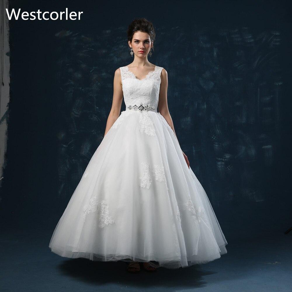Westcorler White Cheap Wedding Dress Made In China Crystal