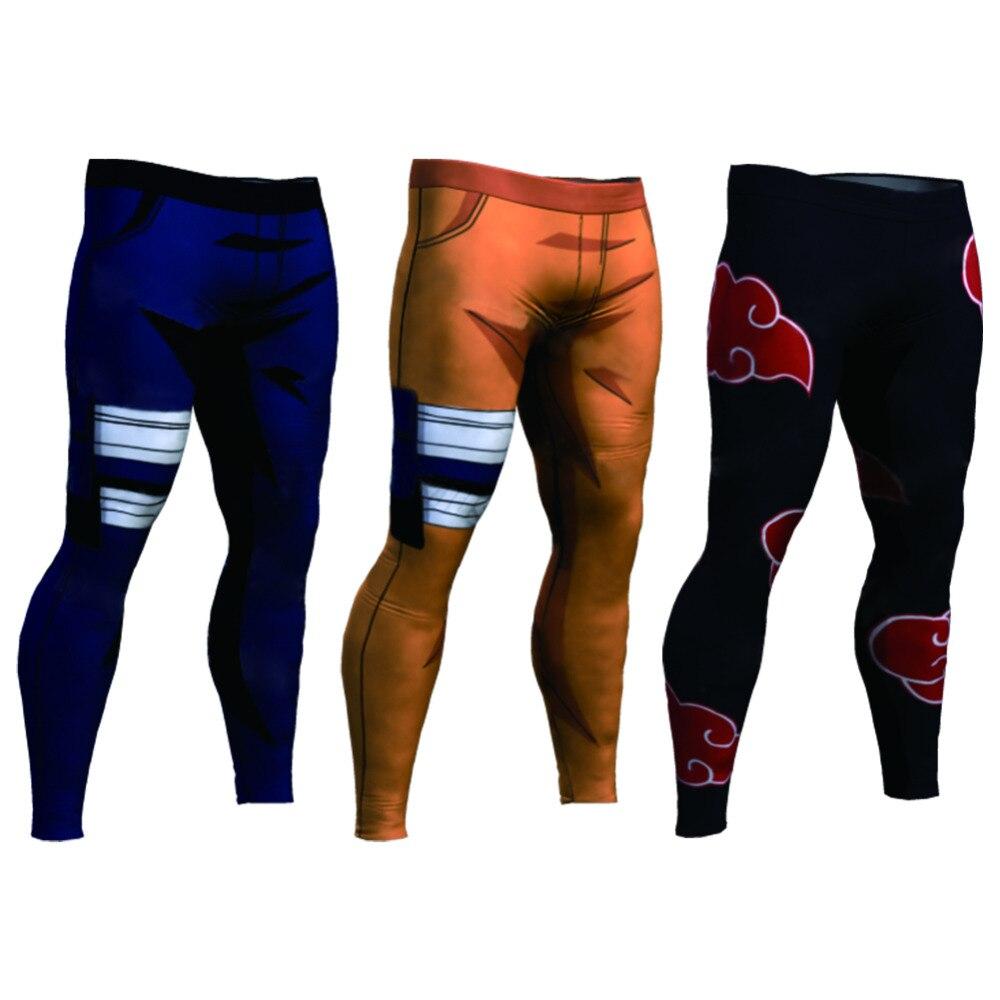 2018 Summer 3D Print Board Long Anime Naruto Akatsuki Kakashi Casual Long Pants Sweat Pockets Cosplay Jogger Fitness Trousers