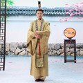 Chinese costume film and television male clothes tang suit national clothing Minister  hanfu
