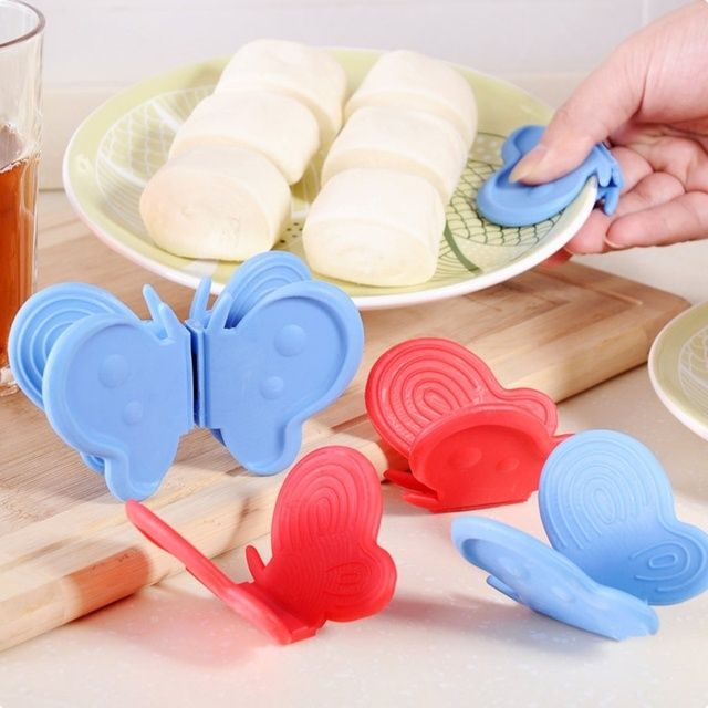 Butterfly Shaped Silicone Anti-scald Plate Clamp