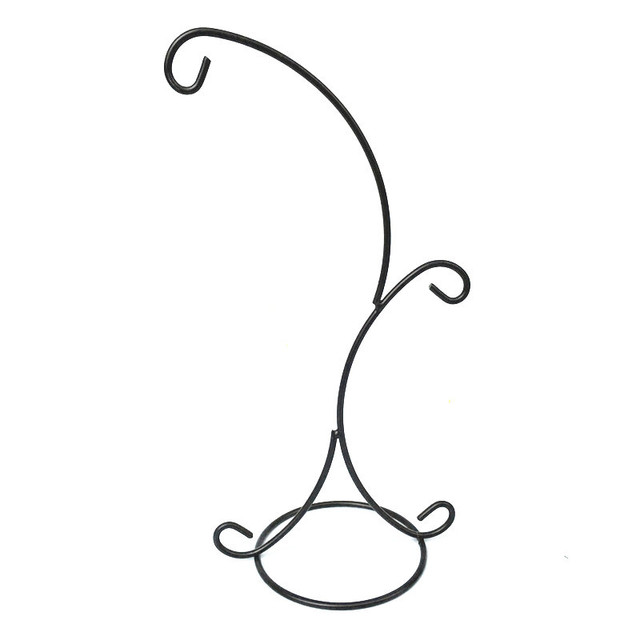 Wholesale 2 Arms 355cm Height Steel Iron Hook For Glass Bubble Vase