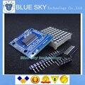 Smart Electronics MAX7219 dot matrix module microcontroller module DIY KIT 3 orders