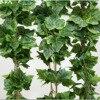 Hot Sale 5pcs Lot Home Decor Fashion Decorative Flowers Artificial Grape Leave Leaf Garland Plants Bunch