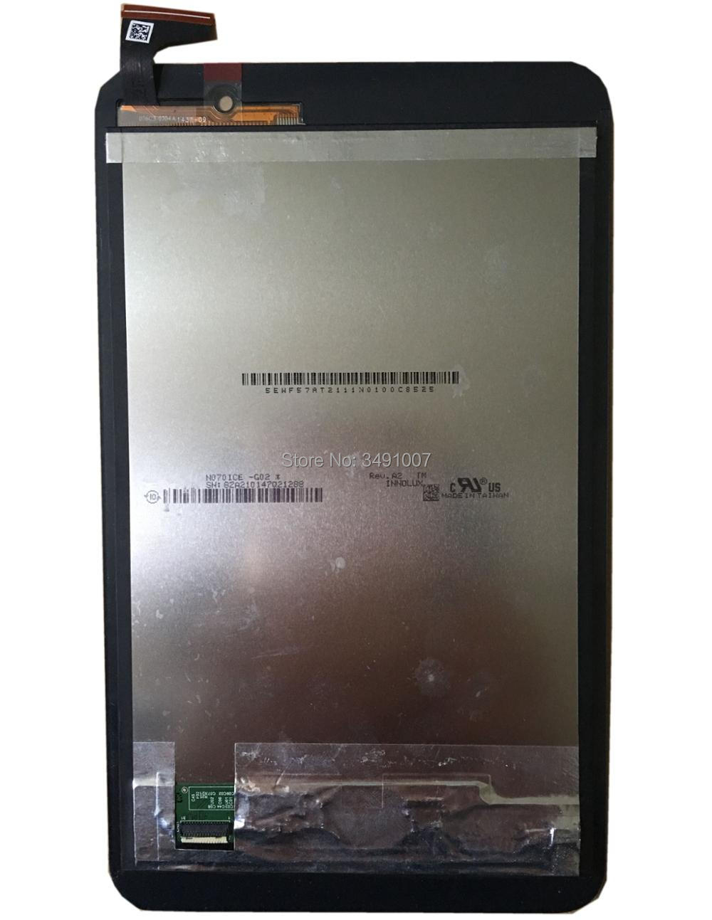 LCD LED Touch Screen Digitizer Assembly with Frame For Asus Memo Pad 7 ME176 ME176C ME176CX K013 new 8 inch for asus memo pad 8 me180 me180a digitizer touch screen with lcd display assembly frame