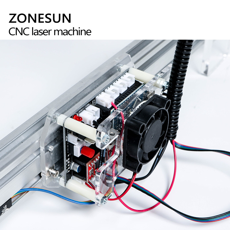 5500mW Desktop DIY Violet Laser Engraving Machine Picture CNC Printer Maximum Engraving Area 35*50CM - 4