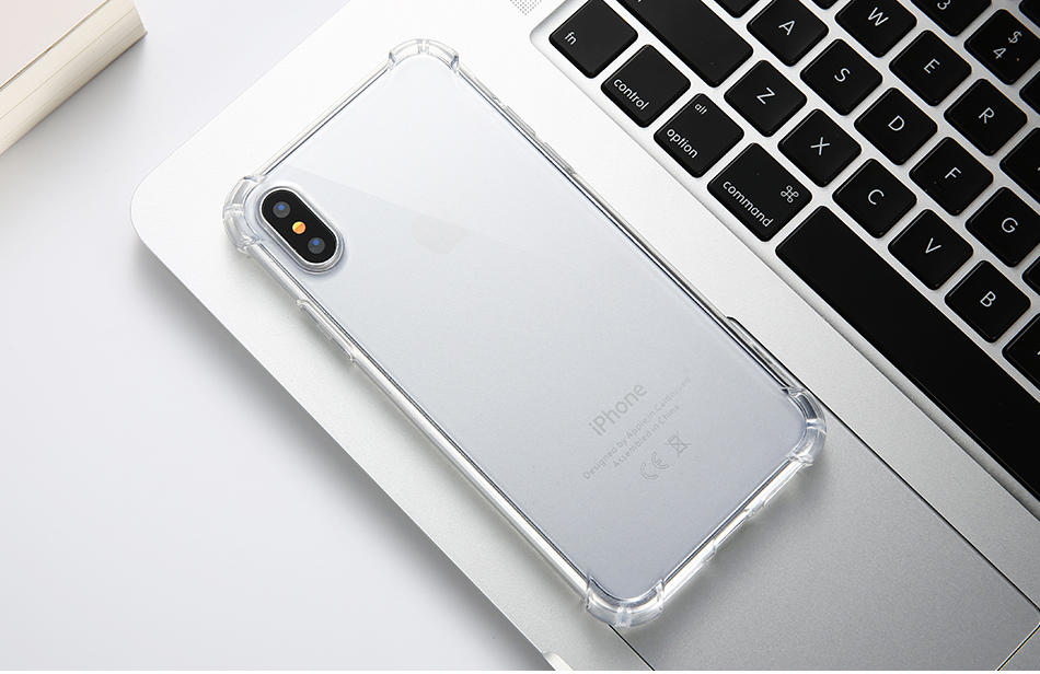 Anti-knock Clear Silicon Shockproof Cover with TPU iPhone Case 11