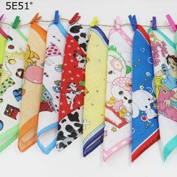 (10pcs/lot) Children handkerchief cotton 100% /Cartoon style printed 20cm/Many Uses 10pcs lot lt6105ims8 lt6105 100