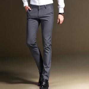 21a649dac03 ABIEME slim fit business Suit pants men suit pants trousers