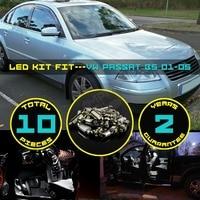 10x Canbus Error Free LED Car Interior Dome Map Reading License Plate Glove Box Light Kit