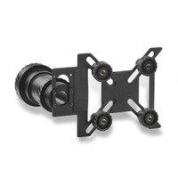 Universal Discovery Aluminium Alloy Anti Slip Clip Scope Phone Mount Adapter for 38 48mm Eyepiece Spotting Scopes & Telescope