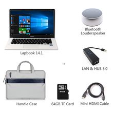 Chuwi LapBook 14.1 inch LapTop Windows10 Intel Apollo lake N3450 4GB RAM 64GB ROM IPS 1920x1080 Full HD Tablet PC NoteBook(China (Mainland))