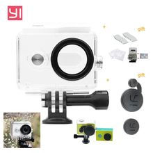 For Xiaomi Yi International Camera Accessories 30M Waterproof Diving Case Housing with Lens Cover for Xiaomi Yi Action Camera