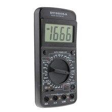 DT9205A Digital Multimeter AC/DC Voltmeter Ammeter Resistance Capacitance Meter Tester Tools mastech ms8268 digital multimeter autorange ac dc voltmeter ammeter resistance capacitance frequency tecrep electrical tester