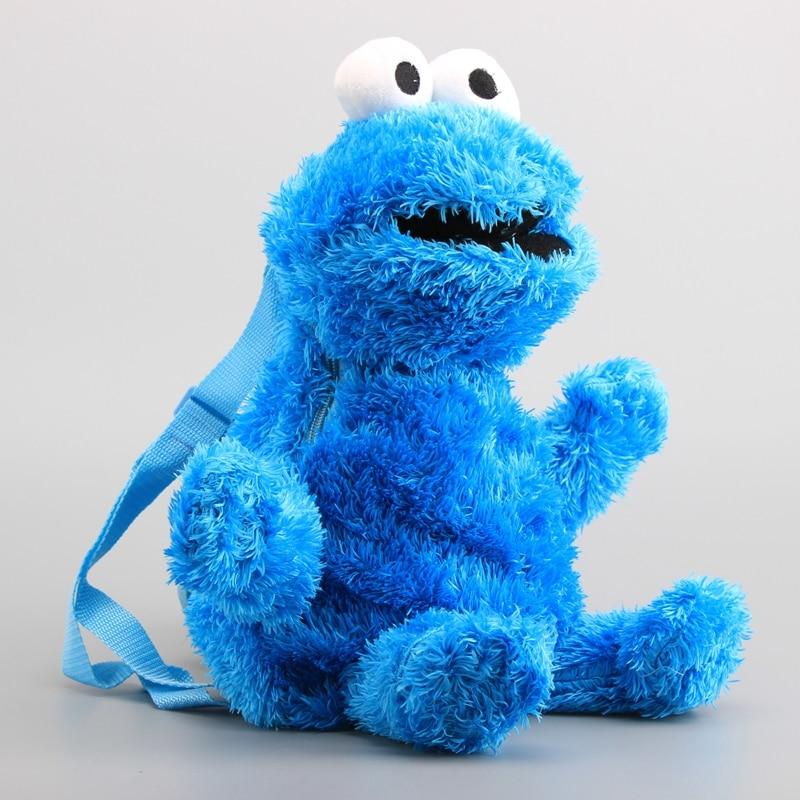 3 Gaya Sesame Street Elmo Cookie Rakasa Mewah Ransel Besar Burung Kartun  Berbulu Tas Boneka Mainan c48cc4d929