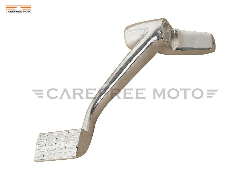 Chrome Forward Controls Motorcycle Rear Foot Brake Lever Moto Brake Foot Peg case for Harley Sportster 1200 883 XL 2004-2013
