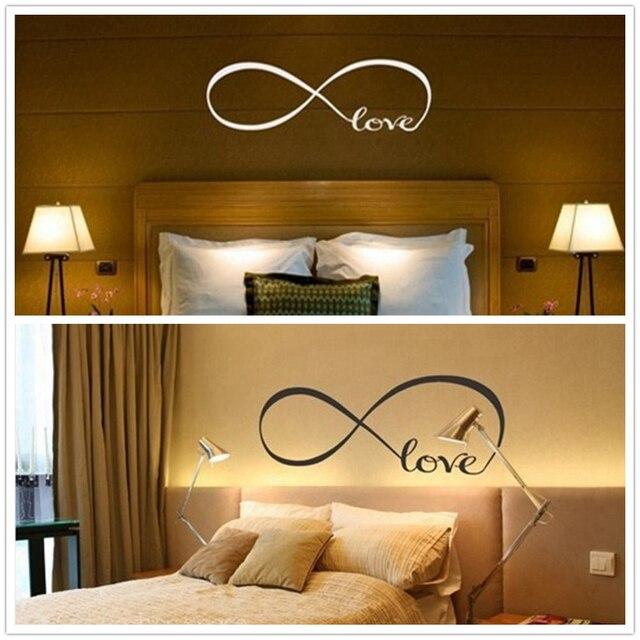 Moderno infinito amore totem adesivi murali per gli amanti della ...