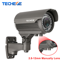 H.265 4.0MP 48 V 2.8-12mm Handmatig Lens Hi3516D brede dynamische Onvif P2P IR Night POE IP Camera Power Over Ethernet Xmeye App Cam