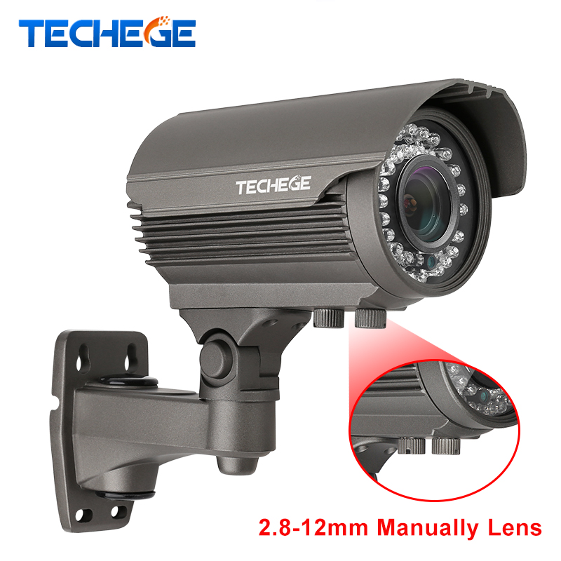 H.265 4.0MP 48 v 2.8-12mm Manuellement Lentille Hi3516D large dynamique Onvif P2P IR Nuit POE IP Caméra power Over Ethernet Xmeye App Cam