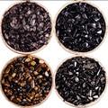 2016 Nova Marca Chegada Natureza esferas de Obsidiana Cascalho Obsidiana Pedra solta beads 4 tipos 100g para as mulheres DIY Fazendo