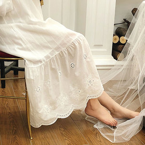 Image 4 - Womens Palace Style Dress Vintage Princess Sleepshirts.Lolita Lace Bow Nightgowns.Victorian Nightdress Ruffles Lounge Sleepwear