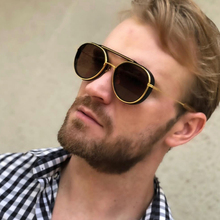 DPZ Fashion Women Round Sunglasses For Men Brand Design Sun